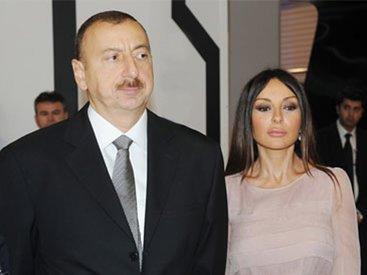 Prezident İlham Əliyev və birinci xanım Mehriban Əliyeva şəhid ailələri ilə görüşüblər