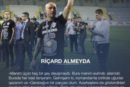 """""""Qarabağ""""ın yeni transferi: Gəlmişəm ki, """"Qarabağ""""ın bir parçası olum"""