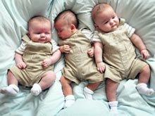 Qusarda üçəm doğulub