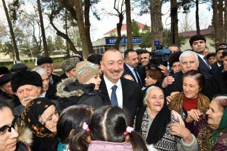 Prezident İlham Əliyev: Mən həmişə xalqın dəstəyinə arxalanmışam, mənə güc verən xalqın mənə olan inamıdır