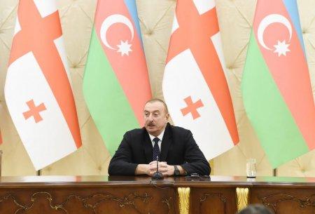 Prezident İlham Əliyev: Gürcüstan və Azərbaycan bundan sonra da bir-birini dəstəkləyəcək