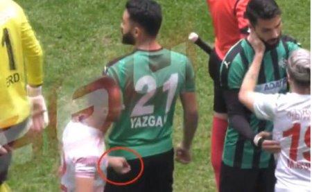 Futbolçu rəqiblərinə ülgüclə xəsarət yetirib - Türkiyədə
