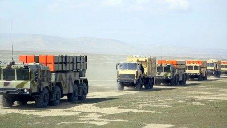 Azərbaycan Ordusunun əməliyyat-taktiki raket bölmələri təlimlərə cəlb edilib