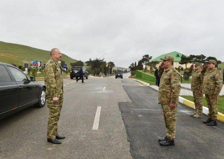 Azərbaycan Prezidenti Müdafiə Nazirliyinin Xüsusi Təyinatlı Qüvvələrinin N saylı hərbi hissəsində olub