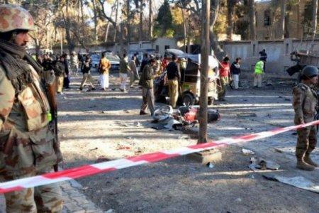 Pakistanda partlayış törədilib: 16 ölü, 30 yaralı var