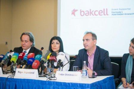 Bakcell Formula 1 Azərbaycan Qran Prisinin ilk rəsmi dəstəkçisi olub