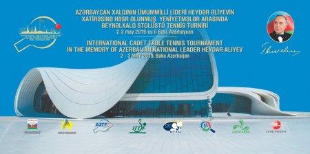 Bakıda beynəlxalq stolüstü tennis turnirinə START VERİLDİ