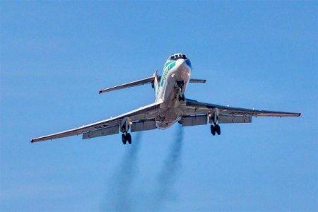 Əfsanəvi Tu-134 təyyarəsi sonuncu reysini uçub