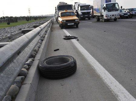 Ötən gün yol qəzalarında 5 nəfər ölüb, 3 nəfər xəsarət alıb