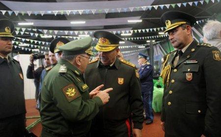 """Müdafiə naziri """"Beynəlxalq Ordu Oyunları - 2019"""" yarışlarının bağlanış mərasimində iştirak edib"""