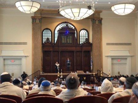 Los Anceles sinaqoqunda Azərbaycanın tolerantlığına dair təqdimat keçirilib