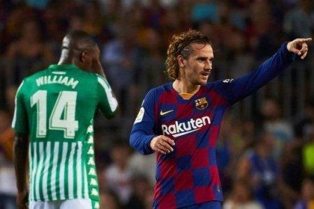 Qrizmann dubl edərək Barselonada ilk qollarını vurdu