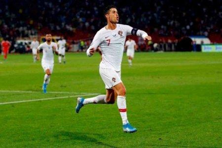 Kriştiano Ronaldo yeni rekord müəyyən edib