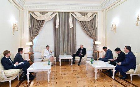 Prezident İlham Əliyev AŞPA-nın prezidentini qəbul edib