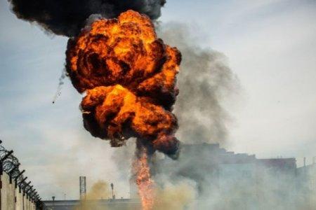 Qazaxıstanda silah anbarı partladı: yaralılar var