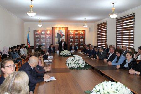 BDU-nun 100 illik yubileyi Qazax filialında qeyd edilib