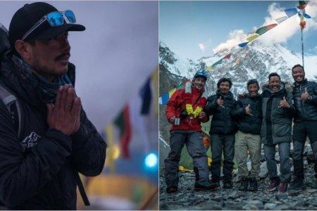 Nepallı alpinist rekord qırdı: Dünyanın ən hüdür 14 zirvəsini 7 aya fəth etdi