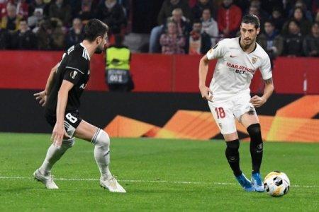 """""""Qarabağ"""" """"Sevilya""""ya məğlub olub, play-off mərhələsinə çıxmaq şansını itirib"""