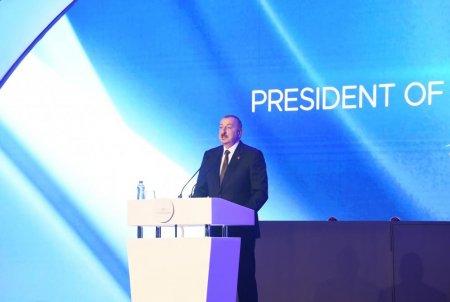 Prezident İlham Əliyev: Həyata keçirilən nəhəng layihələr Azərbaycan və Türkiyənin gücünü göstərir