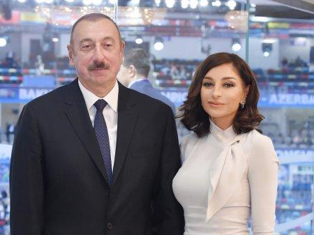 Prezident İlham Əliyev və birinci xanım Mehriban Əliyeva Şamaxıda ağacəkmə aksiyasında iştirak ediblər