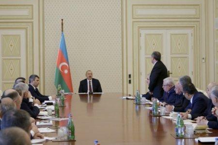 İlham Əliyev icra başçısını BELƏ DANLADI