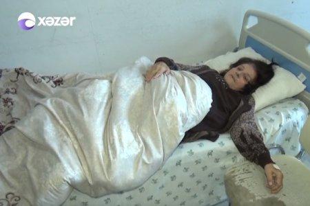 Gəncədə həkim səhlənkarlığı: qadının qarnından 6 ay sonra qayçı çıxarıldı - VİDEO