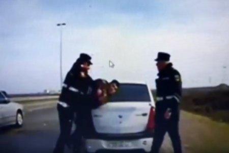 Bakıda yol polisinə silahlı hücum edilib - VİDEO