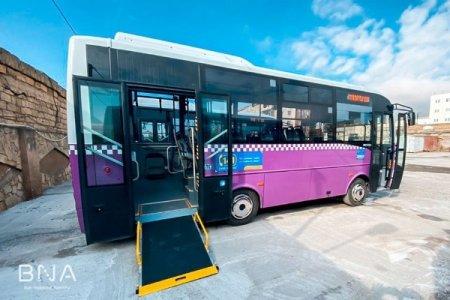 Bakıda daha bir marşruta yeni avtobuslar verildi