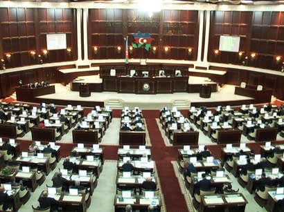 VI çağırış Milli Məclisin ilk plenar iclası başlayıb