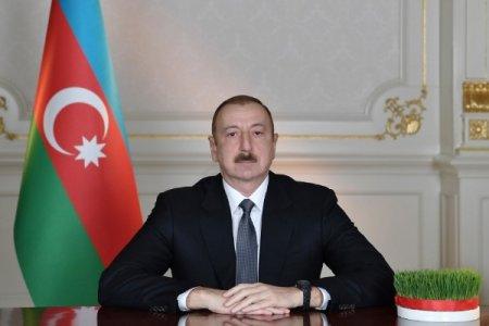 Prezident İlham Əliyev Azərbaycan xalqını təbrik etdi - VİDEO