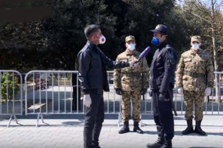 """""""Dincəlmək də istəmirik, təki vətəndaşlarımız virusa yoluxmasın"""" - Karantin rejimində işləyən polis"""