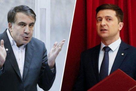 Zelenski Saakaşviliyə yüksək vəzifə təklif etdi