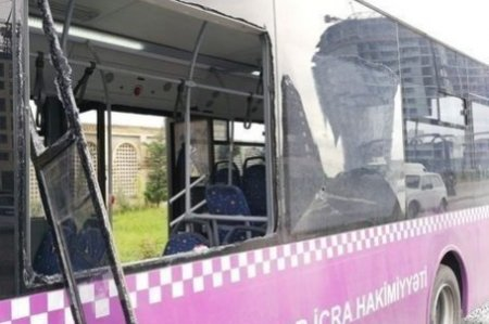 Azərbaycanda iki avtobus toqquşdu: Çoxlu sayda yaralı var