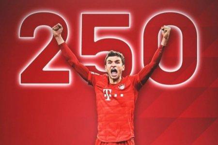Tomas Müller - 250: Almaniya çempionatında yeni rekorda doğru