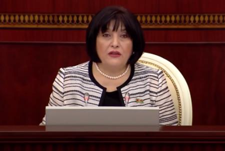Milli Məclisin sədri deputatlara irad bildirib