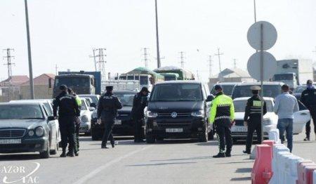 REJİM POZUNTUSU: daha 305 avtomobil postlardan geri qaytarıldı