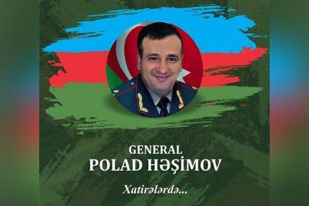 General Polad Həşimov haqqında kitab nəşr olunacaq