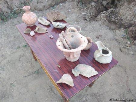 Şamaxıda Antik dövrə aid nekropol aşkar olunub