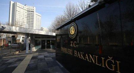 Türkiyə XİN: Ermənistanın Şərqi Aralıq dənizi ilə bağlı rəy verməsi hədsizlikdir