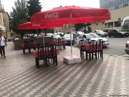 Kafe və restoranlar fəaliyyətə başlayı