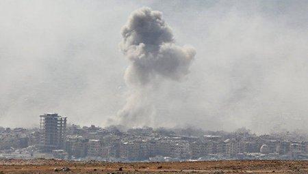 Suriyada qaz boru kəmərində partlayış baş verib