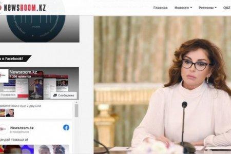 Qazaxıstan portalları Birinci vitse-prezident Mehriban Əliyevanın fəaliyyəti haqqında yazır