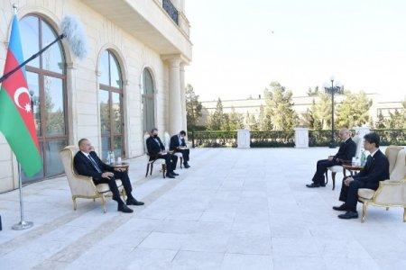 Prezident iki ölkənin səfirinin etimadnaməsini qəbul etdi