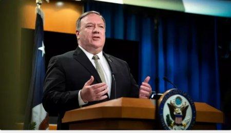 """Pompeo: """"ABŞ Çinin hərbi potensialını artırmasından narahatdır"""""""