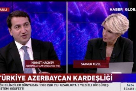 Hikmət Hacıyev: Azərbaycan və Türkiyə regionda çox gözəl inkişaf modeli yaradıblar