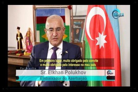 Braziliya telekanalında Ermənistanın Azərbaycana qarşı təcavüzü və onun acı nəticələri barədə bəhs edilib