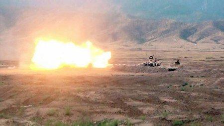 Ermənistan ordusunun alayı darmadağın edilib - MN