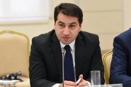 """Hikmət Hacıyev: """"Ermənistanın atdığı raket BTC-nin 10 metrliyinə düşüb"""""""
