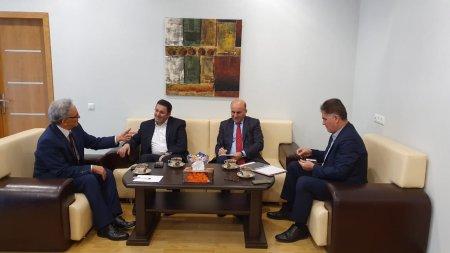 İranın Azərbaycandakı səfiri Azərbaycan Mətbuat Şurasında olub