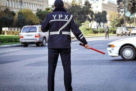 Bakıda polis komendant saatını pozan sürücünü xəbərdarlıq atəşi ilə saxlayıb - TƏFƏRRÜAT